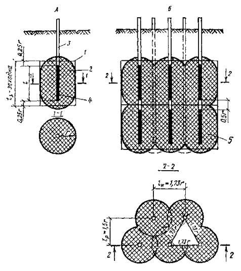 Расчетная схема инъекционного