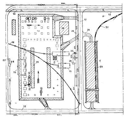Схема стройгенплана