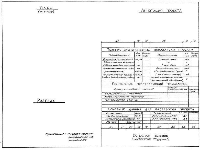образец паспорта проекта - фото 2