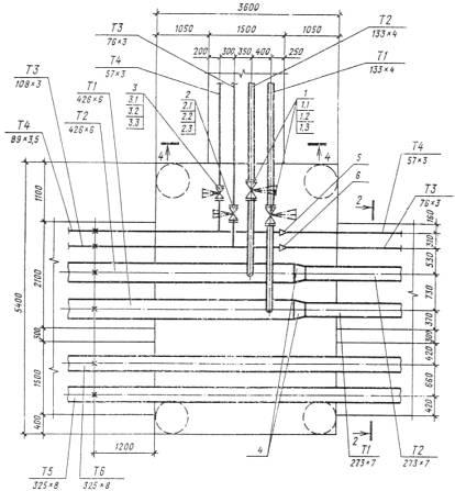 Пример оформления плана узла