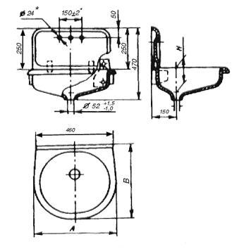 Рисунок 10 - Мойка стальная