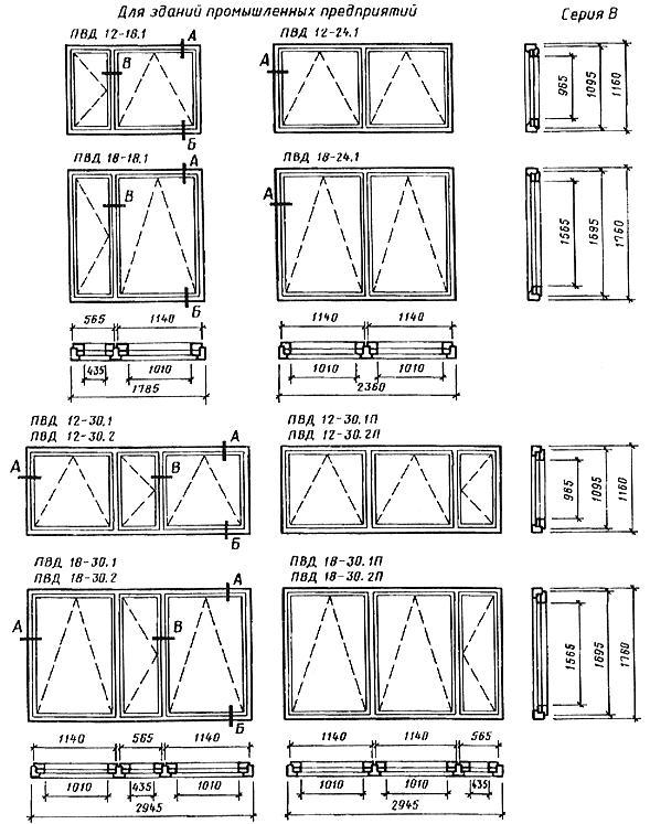 форма, основные размеры и