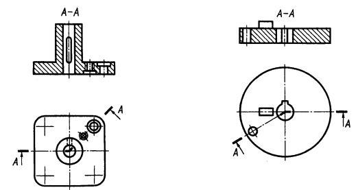 изображения виды сечения разрезы: