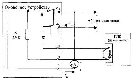 Схема измерения тока систем «