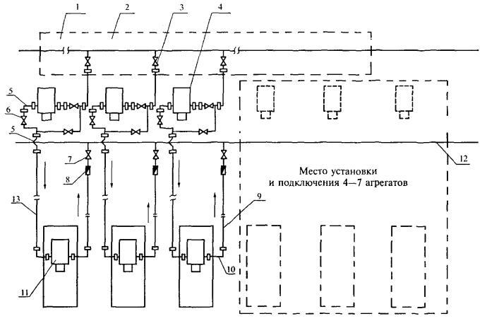 Схема откачки нефти из