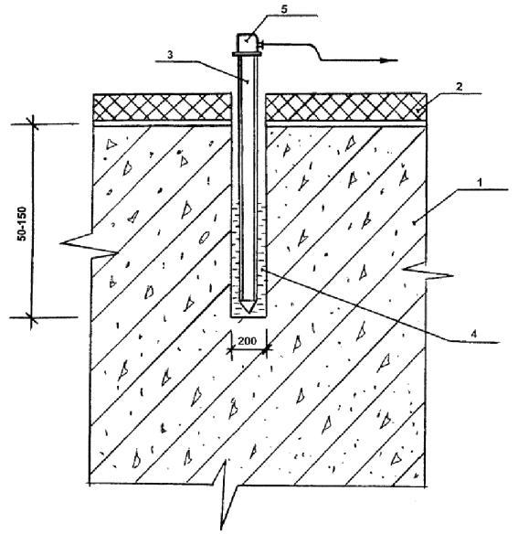 1 - монолитная конструкция