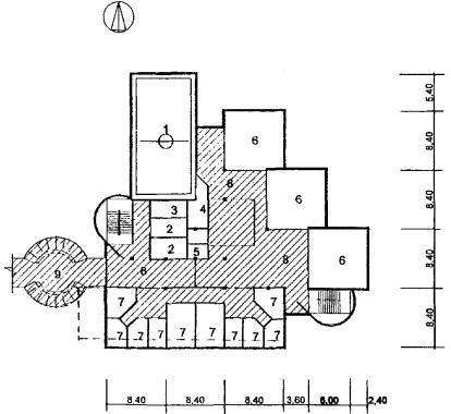 Рис. 19 Схема архитектурно-