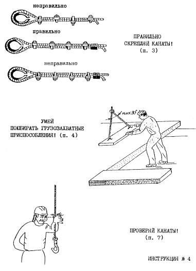 by инструкция стропальщика