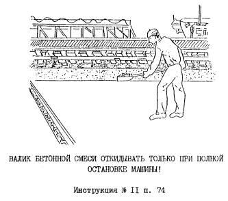 Производственная инструкция бетонщика