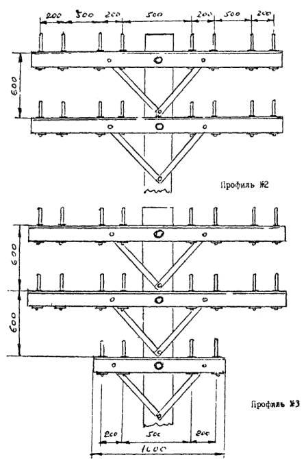 Схема линии связи при 20