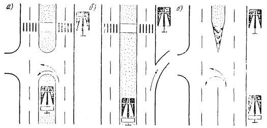 Схемы установки знака 5.1 «