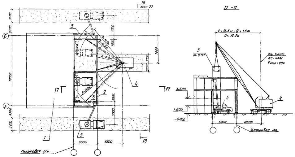 5 - автоподъемник АП-17;