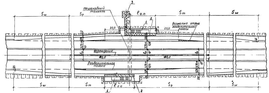 Схема автобусной остановки на