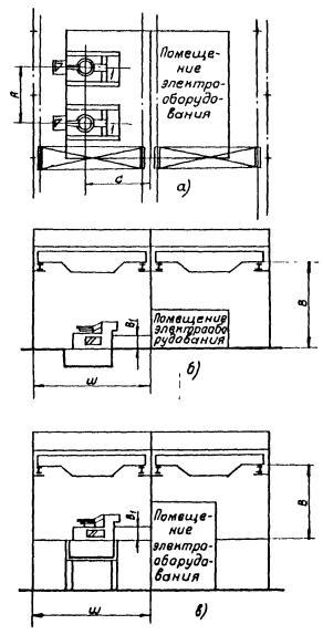 Схема установки индукционных