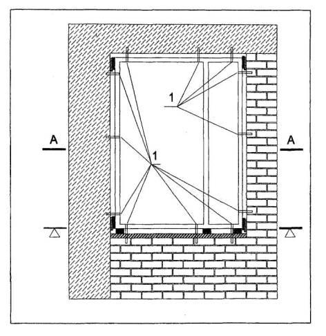 Рис.2 Схема расположения точек