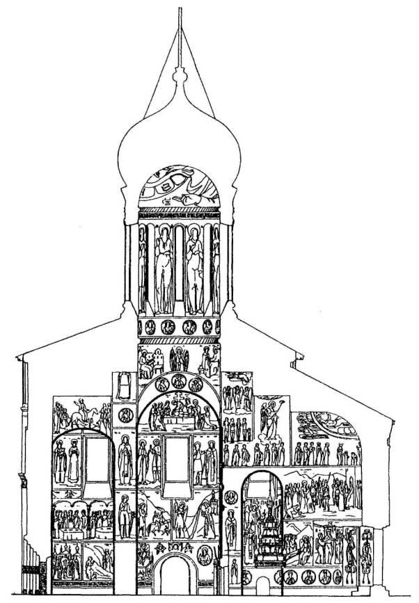 Росписи собора Чуда архангела