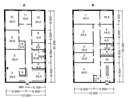 A. Планировочная схема жилой