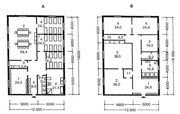 A Планировочная схема жилой