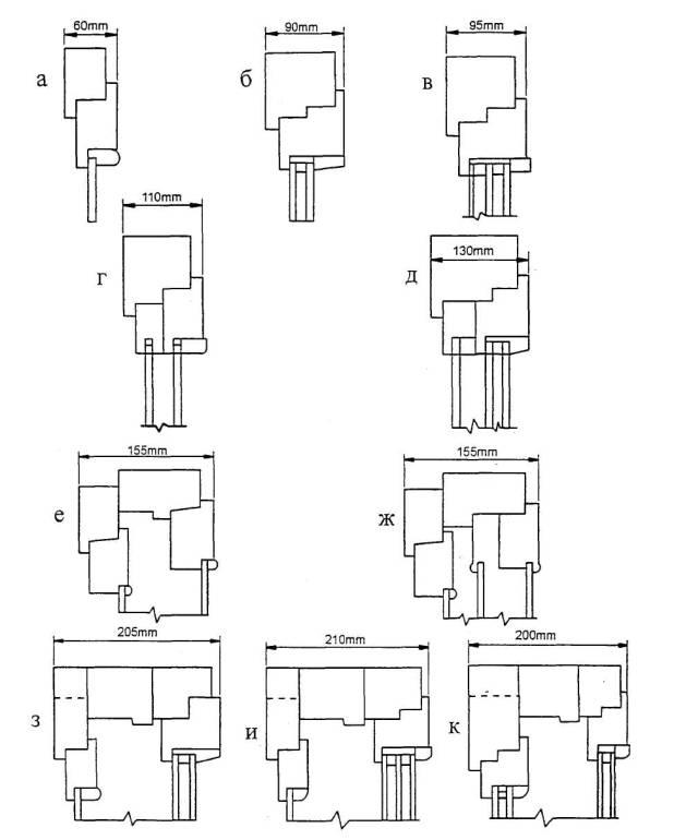 блоков для деревянных окон