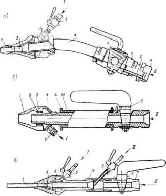 Схема конструкции пистолета: