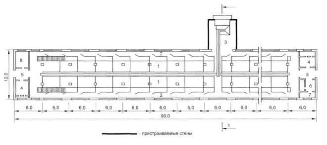 Рисунок Б.8 - План свинарника