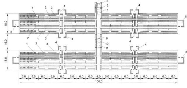 Рисунок Б.22 - План свинарника