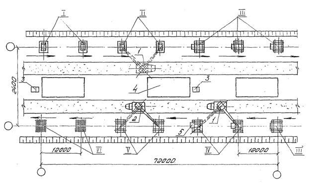 Схема устройства монолитных