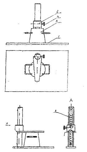 Схема прибора для определения