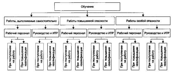 Структурная схема обучения