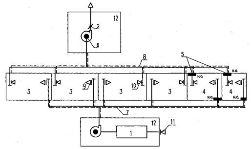 б - вытяжной вентилятор