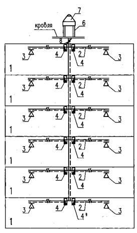 1 - коридоры без естественного