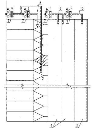 2 - нижняя зона лестничной