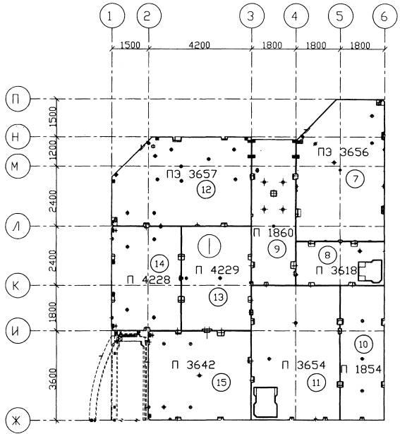 11.3 Схема монтажа перекрытия