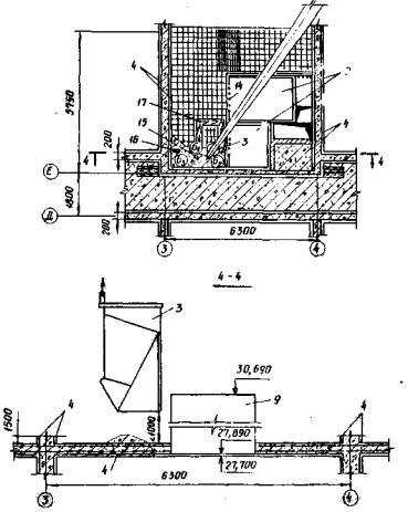Схема бетонирования перекрытий