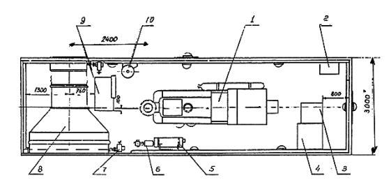 двигатель-генератор АДГ-50