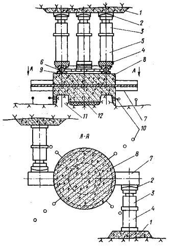 Схема установки для испытания
