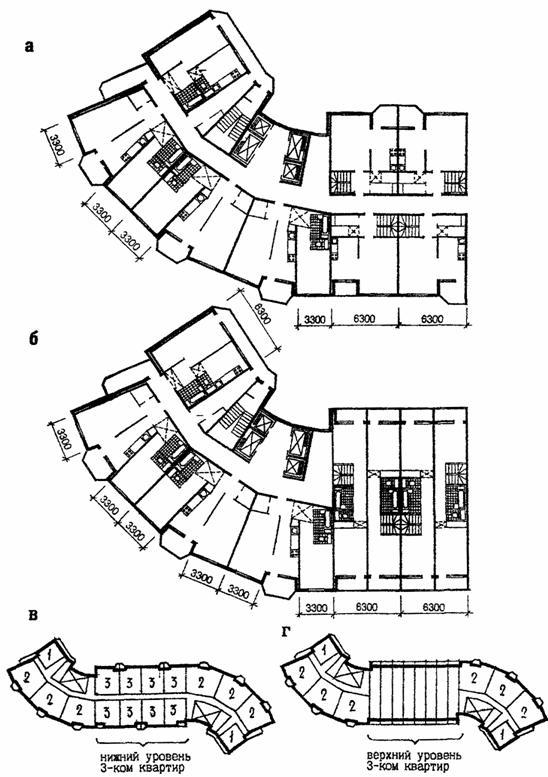 Коридорно-секционный жилой дом