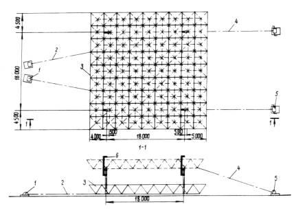 Схема подъема и установки