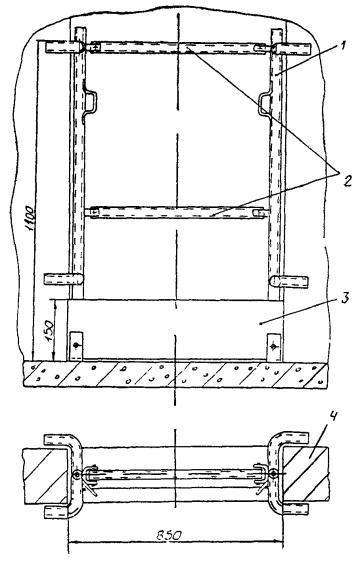 установочный чертеж лифта
