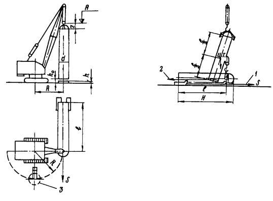 Схема подъема аппарата одним