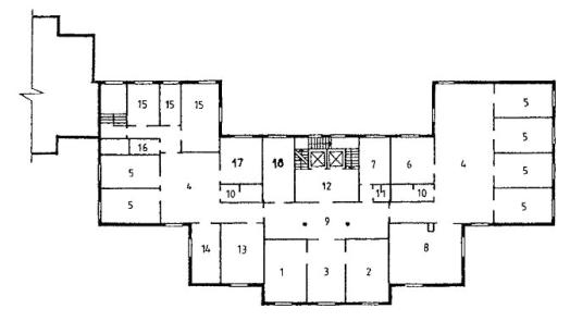 План II этажа.